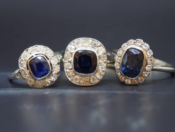 Sapphire engagement rings - Berlin's fantastic selection!