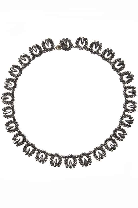 antikes-Cut-Steel-Collier-1628