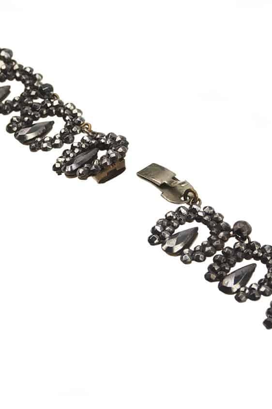 antikes-Cut-Steel-Collier-1628c