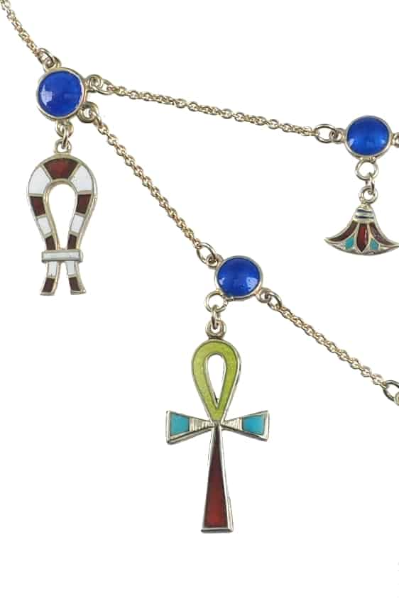 Antikschmuck-Egyptian-Revival-Collier-1258a