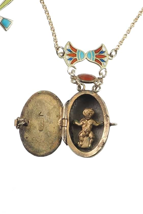 Antikschmuck-Egyptian-Revival-Collier-1258c