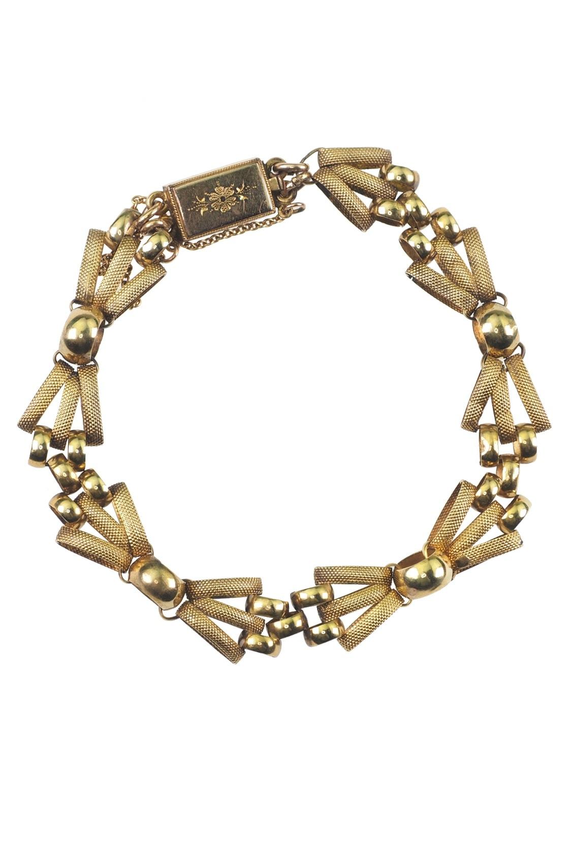 antikes-Gelbgoldarmband-kaufen-2839