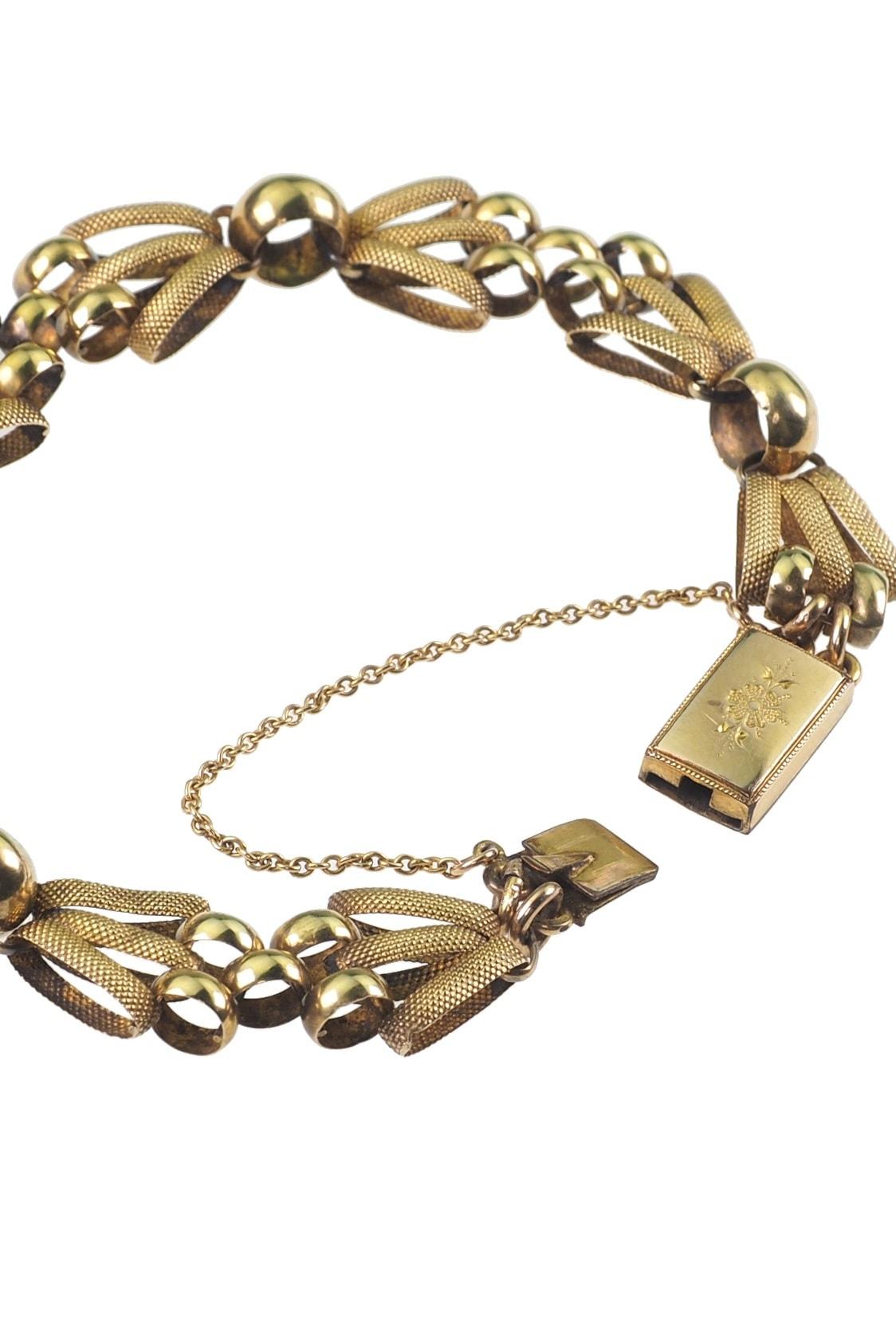 antikes-Gelbgoldarmband-kaufen-2839b